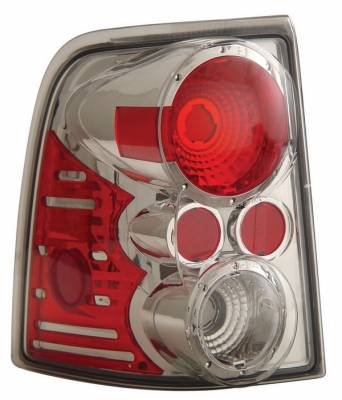 Anzo - Ford Explorer Anzo Taillights - Chrome - 211079