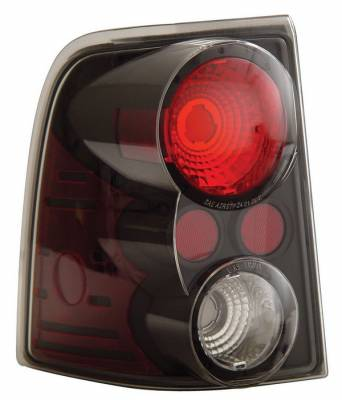 Anzo - Ford Explorer Anzo Taillights - Black - 211081