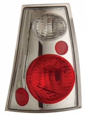Anzo - Ford Explorer Anzo Taillights - Chrome - 211085