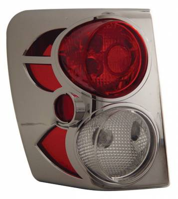 Anzo - Jeep Grand Cherokee Anzo Taillights - Chrome - 211104