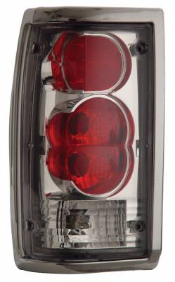 Anzo - Mazda B2000 Anzo Taillights - Chrome - 211111