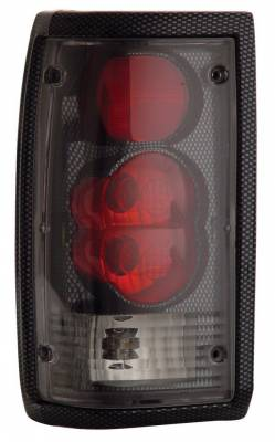 Anzo - Mazda B2000 Anzo Taillights - Carbon - 211112