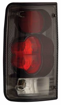 Anzo - Toyota Pickup Anzo Taillights - Chrome - 211131