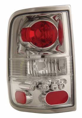 Anzo - Ford F150 Anzo Taillights - Chrome - 211138