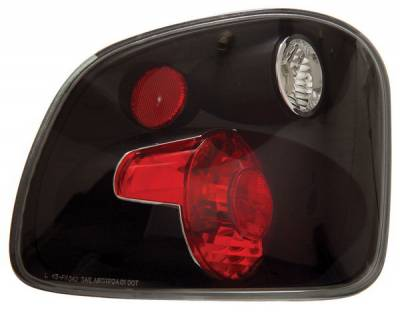 Anzo - Ford F150 Anzo Taillights - Black - 211143