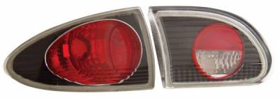 Anzo - Chevrolet Cavalier Anzo Taillights - Black - 221010