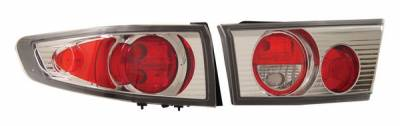 Anzo - Honda Accord 4DR Anzo Taillights - Chrome - 221028