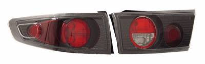 Anzo - Honda Accord 4DR Anzo Taillights - Carbon - 221029