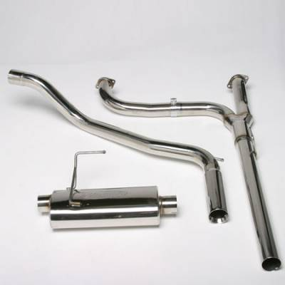 Volant - Volant Stainless Steel Cat-Back Exhaust System with Y-Pipe - 12856752