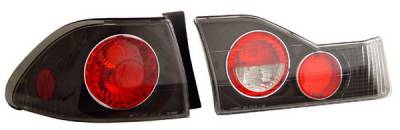 Anzo - Honda Accord 4DR Anzo Taillights - Black - 221041
