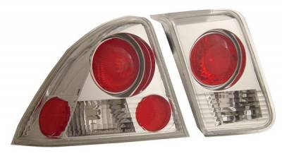 Anzo - Honda Civic 4DR Anzo Taillights - Chrome - 221047