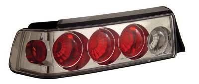 Anzo - Honda Civic HB Anzo Taillights - Chrome - 221051