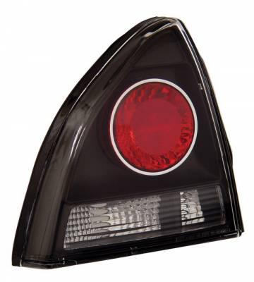 Anzo - Honda Prelude Anzo Taillights - Black - 221071