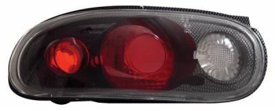 Anzo - Mazda Miata Anzo Taillights - Carbon - 221076