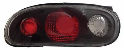 Anzo - Mazda Miata Anzo Taillights - Black - 221077