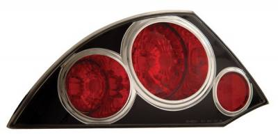 Anzo - Mitsubishi Eclipse Anzo Taillights - Black - 221081