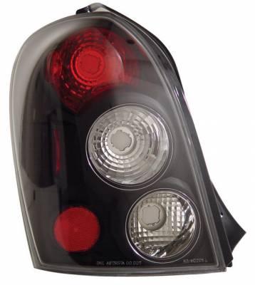 Anzo - Mazda Protege Anzo Taillights - Black - 221095