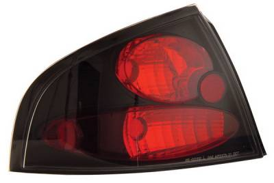 Anzo - Nissan Sentra Anzo Taillights - Black - 221099