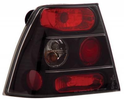 Anzo - Volkswagen Jetta Anzo Taillights - Black - 221126