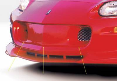 Wings West - Chevrolet Camaro Wings West Front Grille Insert with Aluminum Mesh - 890229