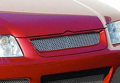 VIS Racing - Volkswagen Jetta VIS Racing J-Spec Front Grille Optional - 890783