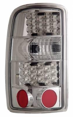 Anzo - Cadillac Escalade Anzo LED Taillights - Chrome - 311002