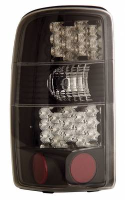 Anzo - Cadillac Escalade Anzo LED Taillights - Black - 311003