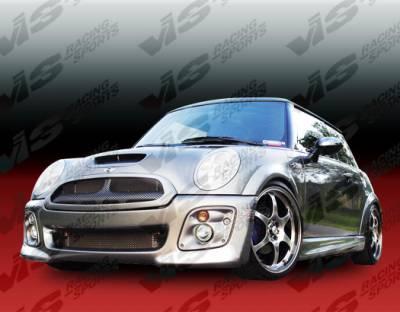 VIS Racing - Mini Cooper VIS Racing Oracle Front Grille - Fiberglass - 02BMMCS2DORA-015