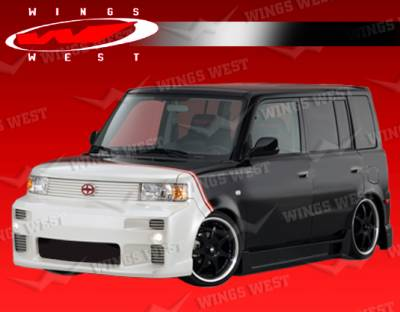 VIS Racing - Scion xB VIS Racing JPC Front Center Grille - 04SNXB4DJPC-015