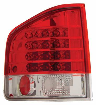 Anzo - Chevrolet S10 Anzo LED Taillights - Red & Clear - 311013