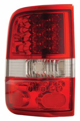 Anzo - Ford F150 Anzo LED Taillights - Red & Clear - 311022
