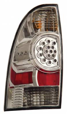 Anzo - Toyota Tacoma Anzo LED Taillights - Chrome - 311041