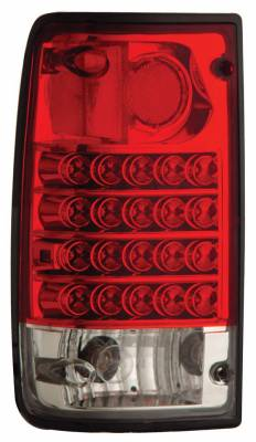 Anzo - Toyota Pickup Anzo LED Taillights - Red & Clear - 311043