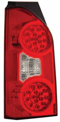 Anzo - Nissan Xterra Anzo LED Taillights - Red & Clear - 311078