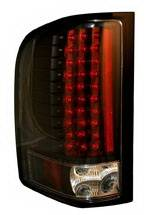 Anzo - Chevrolet Silverado Anzo LED Taillights - Black - 311081