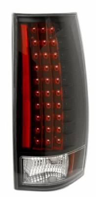 Anzo - GMC Yukon Anzo LED Taillights - Gen 3 - Black - 311084