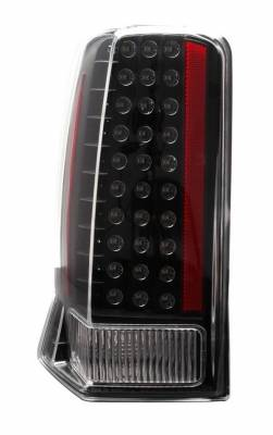 Anzo - Cadillac Escalade Anzo LED Taillights - All Black - No Red Cap - 311121