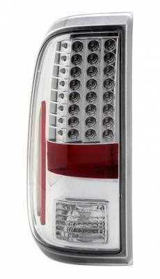 Anzo - Ford Superduty Anzo LED Taillights - Chrome - 311128