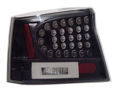 Anzo - Dodge Charger Anzo LED Taillights - Black - 321014
