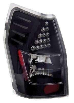 Anzo - Dodge Magnum Anzo LED Taillights - Black - 321017