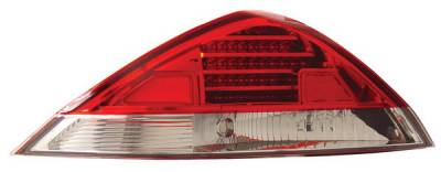 Anzo - Honda Accord 2DR Anzo LED Taillights - Red & Clear - 321027
