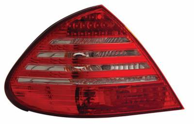 Anzo - Mercedes-Benz E Class Anzo LED Taillights - Red & Clear - 321050