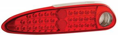 Anzo - Chevrolet Camaro Anzo LED Taillights - Red & Clear - 321094