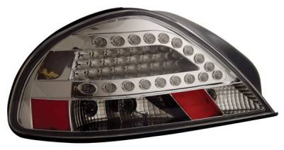 Anzo - Pontiac Grand Am Anzo LED Taillights - Chrome - 321095