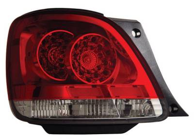 Anzo - Lexus GS Anzo LED Taillights - Red & Clear - 321101