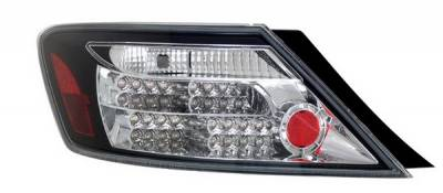 Anzo - Honda Civic 2DR Anzo LED Taillights - Black - 321107