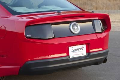 Xenon - Ford Mustang Xenon Urethane Rear Deck Spoiler - 3PC - 12835