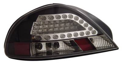 Anzo - Pontiac Grand Am Anzo LED Taillights - Black - 321109