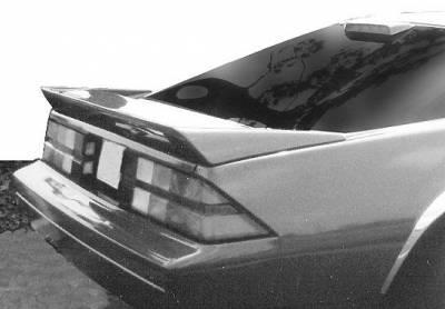 VIS Racing - Chevrolet Camaro VIS Racing Wrap Around Spoiler - 49021