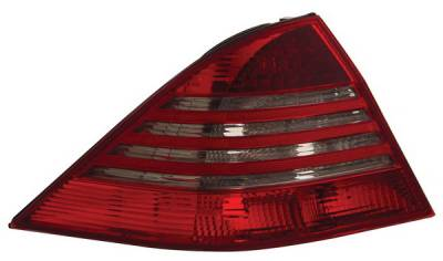 Anzo - Mercedes-Benz S Class Anzo LED Taillights - Red & Smoke - 321122